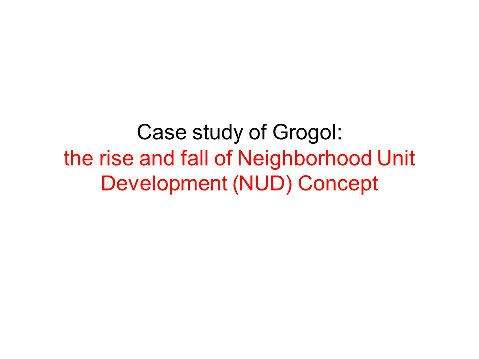 Case study of Grogol: the rise and fall of Neighborhood Unit Development (NUD) Concept