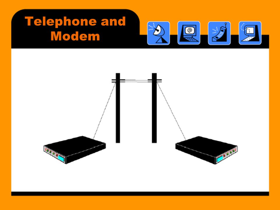 Telephone and Modem