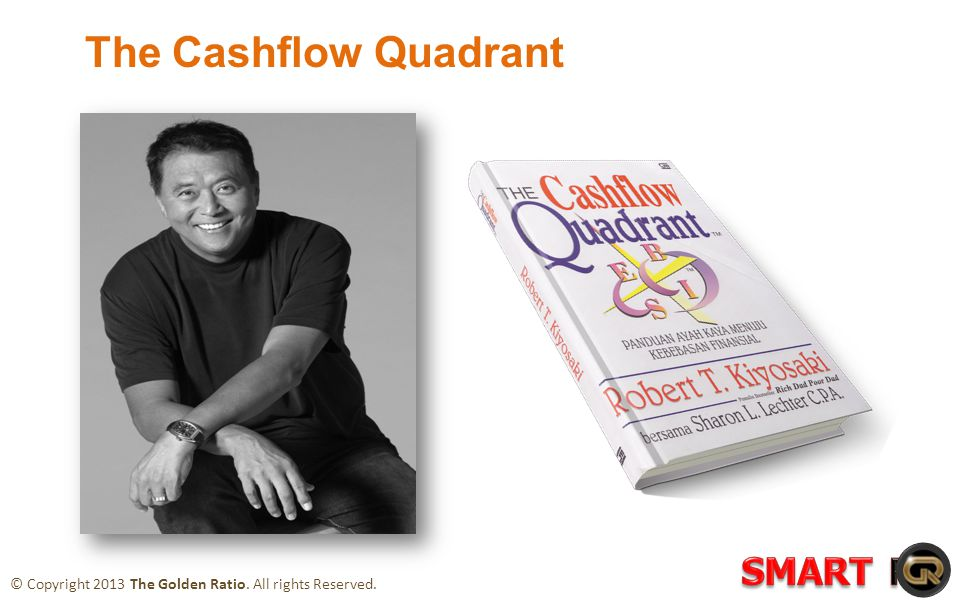 The Cashflow Quadrant © Copyright 2013 The Golden Ratio. All rights Reserved.