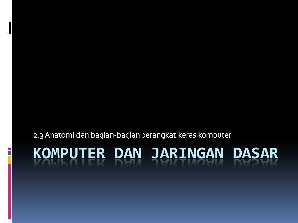 23 Anatomi Dan Bagian Bagian Perangkat Keras Komputer Ppt Download