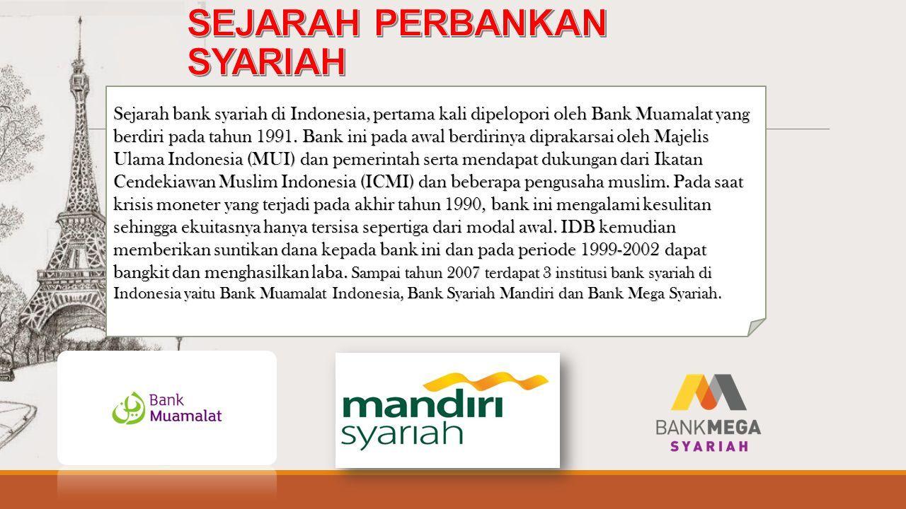 Sejarah Berdirinya Bank Syariah Di Indonesia Seputar Sejarah