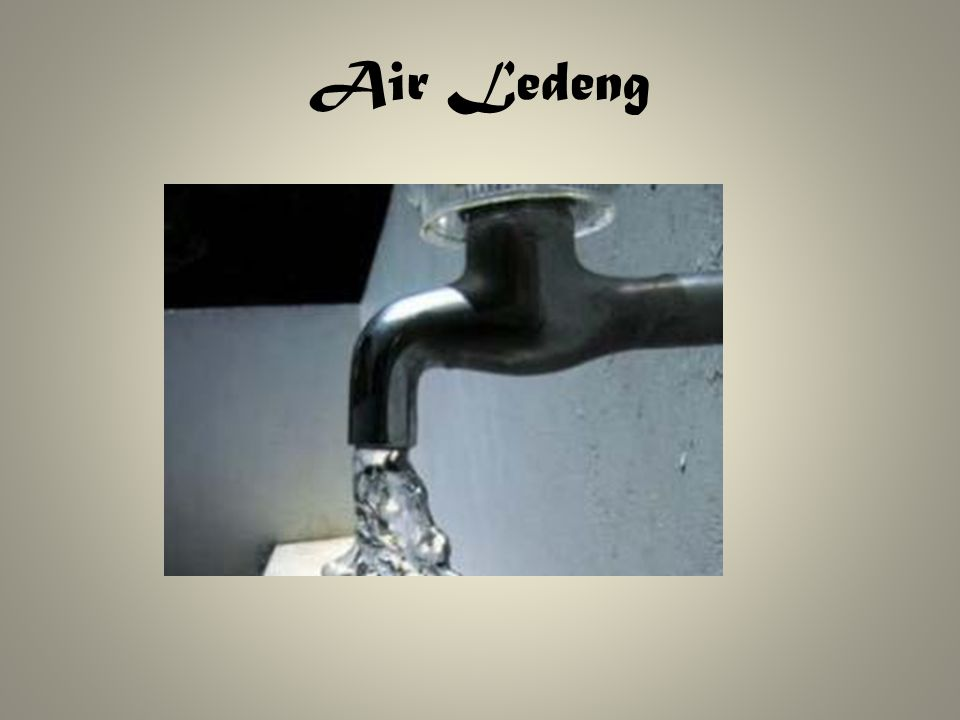 Air Ledeng