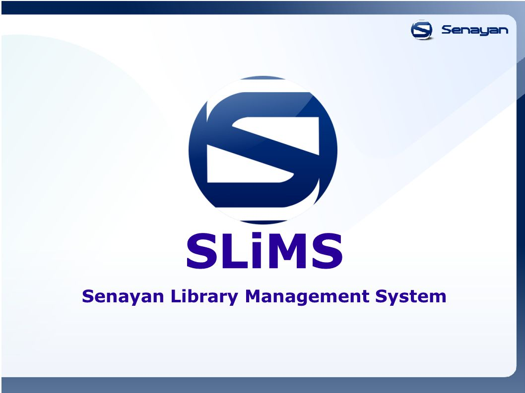 SLiMS Senayan Library Management System