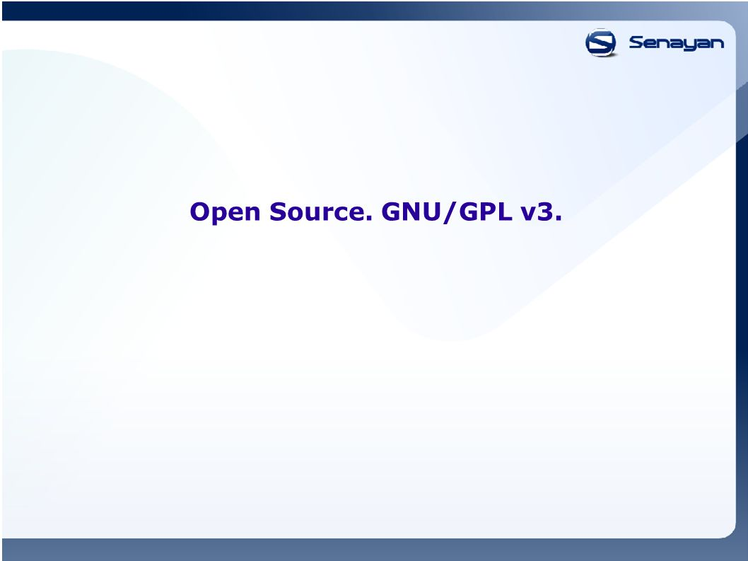 Open Source. GNU/GPL v3.
