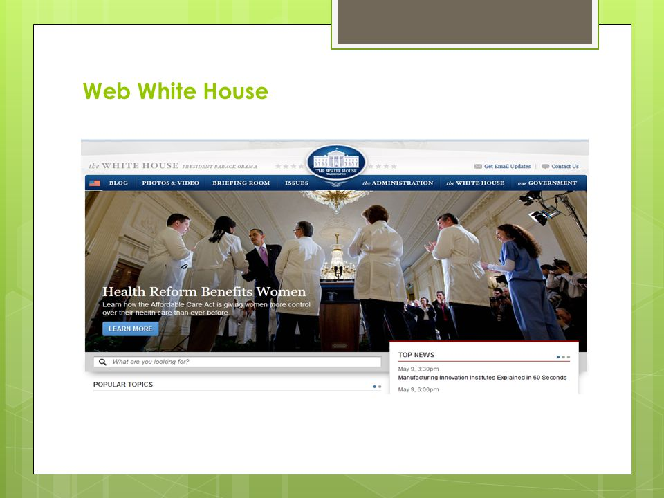Web White House