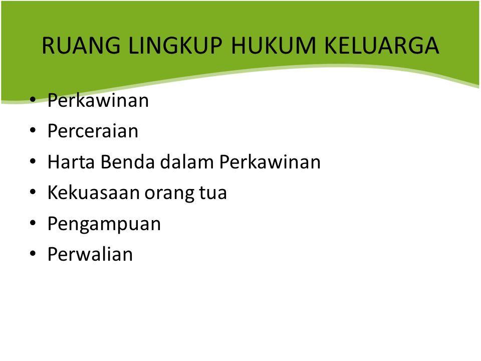 MATA KULIAH KAPITA SELEKTA HUKUM KELUARGA By : Drs. Aripin Marpaung, MA. -  Ppt Download