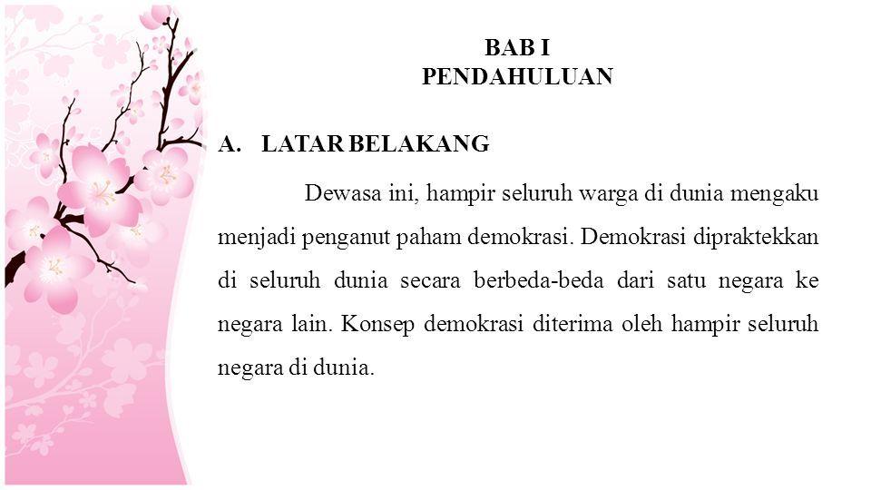 Makalah Demokrasi Di Indonesia Mata Kuliah Pendidikan Pancasila Dan Kewarganegaraan Disusun Oleh Kelompok 6 Eko Juniarto Fevi Supianti Ppt Download